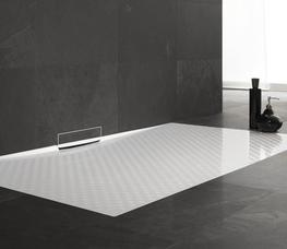 The Kaldewei Xetis Shower Tray is one of the newest shower system solutions available in modern bathroom design.  Kaldewei Xetis Shower Tray features an enameled surface with concealed wall outlet that almost full blends in with the bathroom floor.  This Kalde...