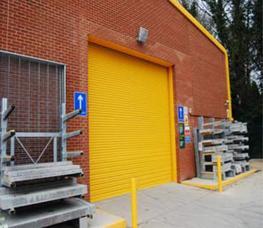 Industrial Roller Shutter Doors image