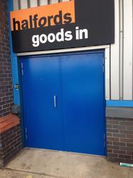 Steel Hinged Doors image