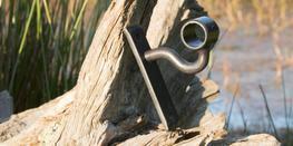 Wrought Iron Sleeve Bracket image
