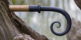 Wrought Iron Scroll Finial image