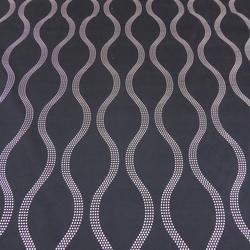 Fabric Sale Drift Design in Jet Development Stock image