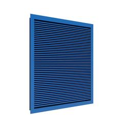 The DB50 storm louvres are not just pleasing to the eye - they are also remarkably efficient and provide the very highest level of weather protection for buildings and plants linear system.  This A-rated storm louvre is thinner and more effective than before a...
