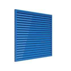Small format simple ventilation louvre designed to fit into window/curtain wall systems for use in sheltered applications.  This louvre is ideal for applications which require little or no weather protection. It's slim construction is also cost-effective and...