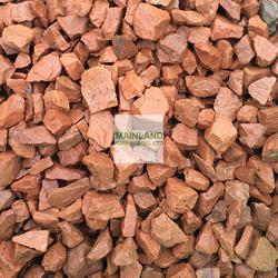 20mm Red Granite Chippings image