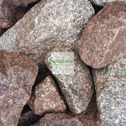 Pink Grey Granite Gabion Stone image