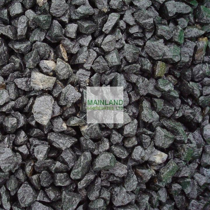 20mm Charcoal Basalt Chippings By Mainland Aggregates Ltd