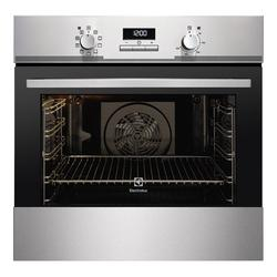 Offering the same flexibility as needed by chefs, the Electrolux EOB3400EAX built-in single oven is ideal for those who love to cook. It has an extra large 74 litre capacity with 9 shelf positions to choose from, and because it s multifunctional, there are lot...