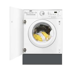 This Zanussi ZWT71201WA washer dryer is ideal if you want an easy to use model that will blend into your kitchen, thanks to its integrated design. It s 7kg wash capacity can clean up to 7 outfits at a time, while its 4kg drying capacity will help to dry your l...