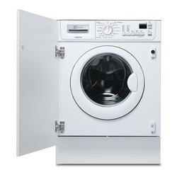 This Electrolux EWG127410W integrated washing machine lets you fit your laundry around your schedule with ease, thanks to the TimeManager option. You can adjust the programme duration so that your laundry is ready when you are - not the other way round. This m...