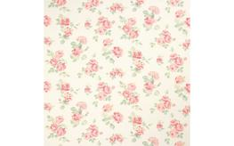 Albertine Blush Curtain Fabric image