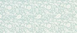 Lyla Damask Duck Egg Curtain Fabric image