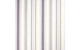 Awning Stripe Pale Iris Curtain Fabric image