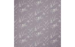 Pussy Willow Pale Iris Curtain Fabric image
