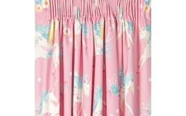 Unicorns Printed Blackout Ready Made Curtains image