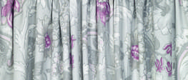 Baroque Pale Grape Pencil Pleat Ready Made Curtains image