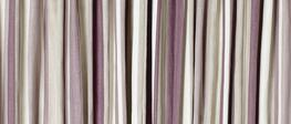 Awning Stripe Grape Ready Made Curtains image