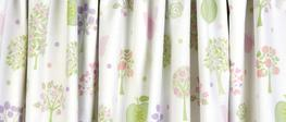 Esme Multi Pencil Pleat Ready Made Curtains image