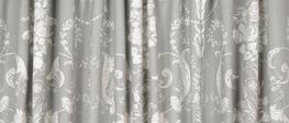 Josette Steel Pencil Pleat Ready Made Curtains image