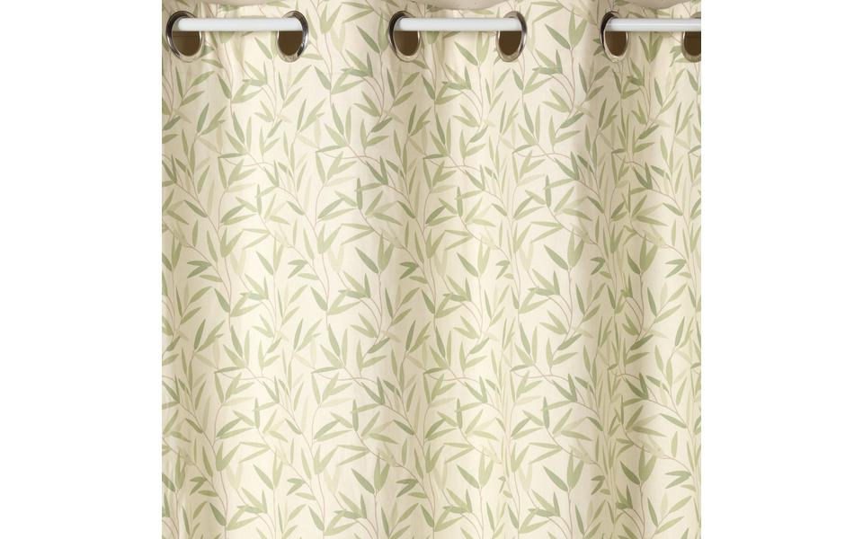 Willow Leaf Hedgerow Eyelet Ready Made Curtains By Laura