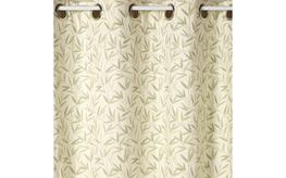 Willow Leaf Hedgerow Eyelet Ready Made Curtains image