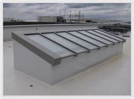 Mono Pitch Rooflights - Lareine Engineering Ltd