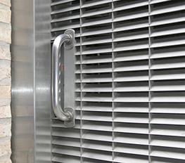 Stainless Steel Delta Louvres image