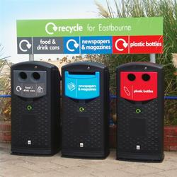 Plastic Recycling Bins image