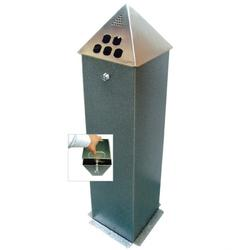 Floor Mounted Pyramid Top Cigarette Bin image