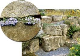 Building Grade Wealden Sussex Sandstone Rock Garden Stone image