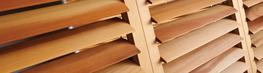 Timber Louvres image