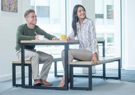 Meet4 - Hoop Leg Tables image