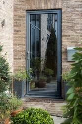 Aluminium Glazed Front Doors image
