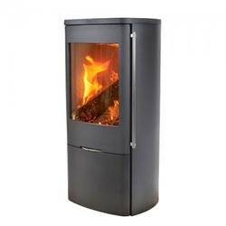 Senza is very suitable for cottages with low heat requirements, as for instance low-energy houses, smaller rooms or summer cottages. The entire front as well as the top consist of solid cast iron. The door is self-locking with magnets, which makes the stove l...