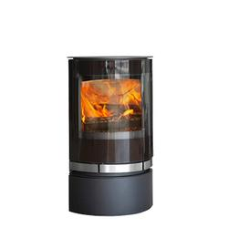Elegance is a contemporary wood burner with a diverse oval design with eye-catching details.   The handle is integrated in a beautiful ribbon of stainless steel that conceals the DuplicAir® air control. The widest panoramic glass on the market offers an 180˚...