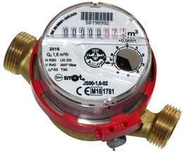 PoWogaz JS Hot Water Meter image