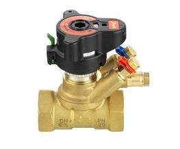 The AB-QM Valves are Flow Limiting Valves used on Heating Systems in order to provide efficient control of the flow and temperature. By controlling the flow to the pre-set scale, a low pressure differential is then kept by the internal diaphragm. This ensures ...