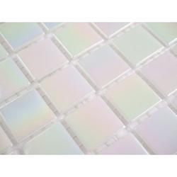 Pearl White iridescent - Straight Edge - Oceanic