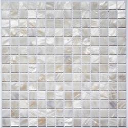 White Shell Mosaic image