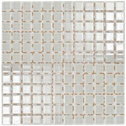 White Glass Mosaic image