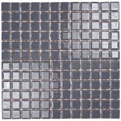 Slate Grey Glass Mosaic image