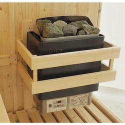 3 Sided Sauna heater guard made from top quality kiln dried spruce....