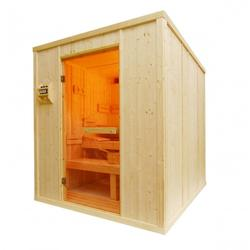 HD4040 Heavy Duty Commercial Sauna Cabin - Behind Bench Heater image