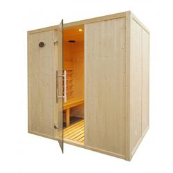 IR2030 Infrared Sauna Cabin Parallel Benches image