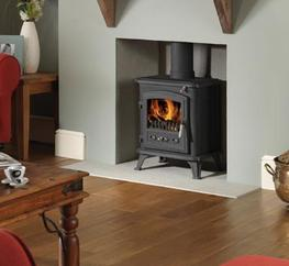 Multi-fuel appliance suitable for burning wood and manufactured smokeless fuels Independently tested and approved to European Standard EN13240 Tested heat output: 5.0kW (wood) 5.3kW (solid fuel) Tested efficiency: 79.7% (wood) 75.3% (solid fuel) Airwash system...