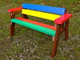 Thames Children's Multicoloured Bench image
