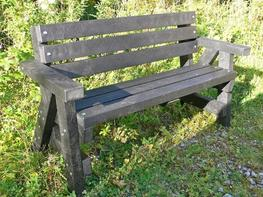 Ribble Garden bench with arms and back image