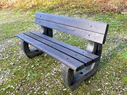 Colne 3 Seater Bench - Bullnose Version image