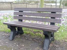 Irwell 3 Seater Garden Bench image