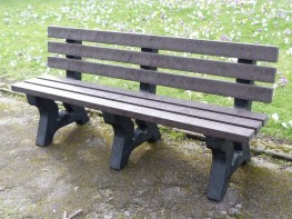 Irwell 4 Seater Garden Bench image